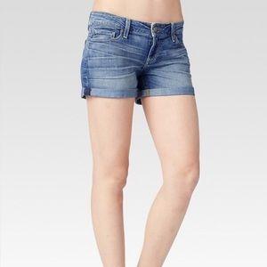 Paige Jimmy Jimmy tigerlily Jean shorts size 26
